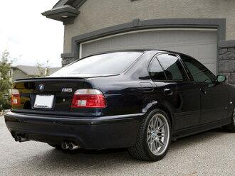 Rear Lip BMW E36 M3 E39 M5 Sedan Pure Color Painted Urethane Trunk Spoiler Cosmos Black 303 Aero Parts And