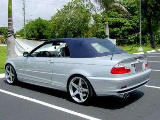 BMW E46 E46 M3蒙我未涂抹尿烷制造后备箱扰流器/3系列/earopatsu/后部嘴唇扰流器