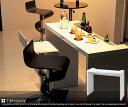【送料無料】RD-T8630 バーカウンターテーブル バーテーブル バーカウンター カウンターテーブル ボトルホルダー ホワイト 収納 RD T8630 120...