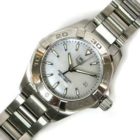 【送料無料】【中古】 TAG HEUER タグホイヤー SS 腕時計 アクアレーサー WAY1412 ステンレススチール WAY1412 レディース メンズ おしゃれ かわいい ギフト プレゼント