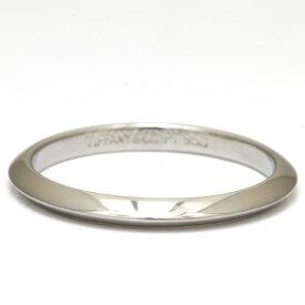 【送料無料】【中古】Tiffany&Co. リング 指輪 PT950 プラチナ バンドリング ナイフエッジ ティファニー 11号 レディース メンズ 女性 男性 おしゃれ かわいい【BJ】 ※ 価格見直し0711 【SH-e】