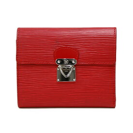 【送料無料】【中古】 LOUIS VUITTON ルイ・ヴィトン 二つ折り財布 エピ エピレザー M5801 レディース メンズ おしゃれ かわいい ギフト プレゼント【SH-e】