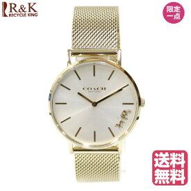【送料無料】【新品】 COACH コーチ SS 腕時計 クリスマスプレゼント 腕時計ベルト ブランド腕時計 ステンレススチール 1503125 ゴールド レディース メンズ おしゃれ かわいい ギフト プレゼント【SH】