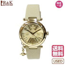 【送料無料】【新品】 Vivienne Westwood ヴィヴィアンウエストウッド SS 腕時計 ORB オーブ ステンレススチール VV006GDCM ベージュ レディース メンズ おしゃれ かわいい ギフト プレゼント【SH】