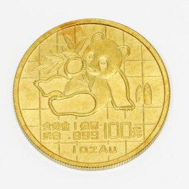 【送料無料】【中古】 K24 パンダ コイン 1オンス 1989年 中国 金貨 純金 24金 ゴールド レディース メンズ おしゃれ かわいい ギフト プレゼント