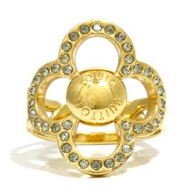 【送料無料】【中古】 LOUIS VUITTON ルイ・ヴィトン リング 指輪 バーグ・フラワーパワー メタル ゴールド レディース メンズ おしゃれ かわいい ギフト プレゼント