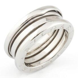【送料無料】【中古】 BVLGARI ブルガリ K18WG リング 指輪 B-zero.1 ビーゼロワン #54 13号 18金 K18ホワイトゴールド レディース メンズ おしゃれ かわいい ギフト プレゼント