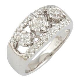 【送料無料】【中古】 Pt900 リング 指輪 13号 ダイヤモンド 0.90ct Pt900プラチナ レディース メンズ おしゃれ かわいい ギフト プレゼント