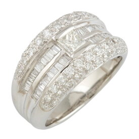 【送料無料】【中古】 Pt900 リング 指輪 13号 ダイヤモンド 1.44ct Pt900プラチナ レディース メンズ おしゃれ かわいい ギフト プレゼント