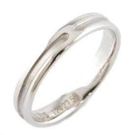 【送料無料】【中古】 HERMES エルメス K18WG リング 指輪 アンプラント #48 8号 18金 K18ホワイトゴールド レディース メンズ おしゃれ かわいい ギフト プレゼント