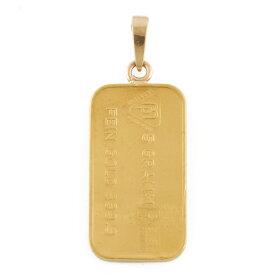 【送料無料】【中古】 K24 コインペンダント スイス銀行 インゴット 5g ペンダントトップ レディース メンズ おしゃれ おすすめ ギフト プレゼント 24金 K24ゴールド
