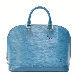 【送料無料】【中古】 LOUIS VUITTON ルイ・ヴィトン ハンドバッグ エピ エピ アルマ M52145 ブルー レディース おしゃれ かわいい おすすめ ギフト プレゼント