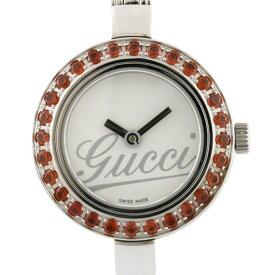 【送料無料】【中古】 GUCCI グッチ SS 腕時計 エレガント シルバー レディース おしゃれ かわいい おすすめ ギフト プレゼント ステンレススチール