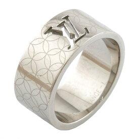 【送料無料】【中古】 LOUIS VUITTON ルイ・ヴィトン リング 指輪 ロゴ バーグ シャンゼリゼ シルバー レディース メンズ おしゃれ おすすめ ギフト プレゼント メタル【BJ】