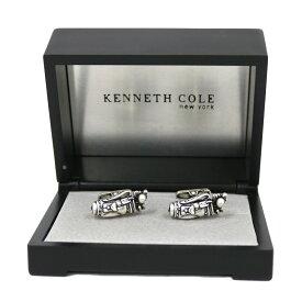 【中古】 Kenneth Cole ケネスコール カフス ゴルフ Golf シルバー メンズ おしゃれ かっこいい おすすめ ギフト プレゼント メタル