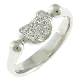 【送料無料】【中古】 TIFFANY&Co. ティファニー Pt950 リング 指輪 ダイヤモンド 8.5号 ハート プラチナ レディース おしゃれ かわいい おすすめ ギフト プレゼント Pt950プラチナ【BJ】【BIM】