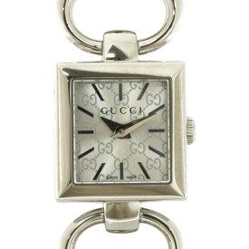 【送料無料】【中古】 GUCCI グッチ SS 腕時計 ブレスレット バングル ロゴ トルナヴォーニ 120 シルバー レディース おしゃれ かわいい おすすめ ギフト プレゼント ステンレススチール【SH】【BIM】