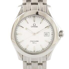 【送料無料】【中古】 OMEGA オメガ 腕時計 シーマスター 120m シルバー メンズ おしゃれ かっこいい おすすめ ギフト プレゼント【SH】【BIM】