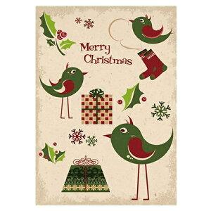 ドイツ クリスマスポストカード Xmasカード ポストカード 絵はがき アート メッセージカード インテリア おしゃれ かわいい