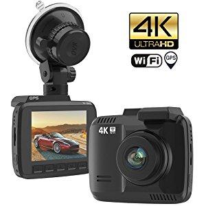 ドライブレコーダー 16GB メモリーカード セット 駐車監視 ステッカー 広角150度 カメラ Gセンサー wifi アプリ GPS 4K ウルトラ Full HD 防犯
