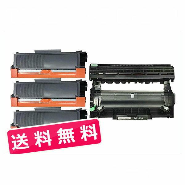 TN-28J/DR-23J tn28j トナーカートリッジ28J(3本)とドラムユニットDR23J(1本)送料無料 BR HL-L2365DW HL-L2360DN HL-L2320D DCP-L2520D DCP-L2540DW MFC-L2720DN MFC-2740DW FAX-L2700DN( 汎用 )