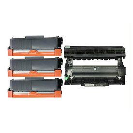 TN-28J/DR-23J tn28j トナーカートリッジ28J(3本)とドラムユニットDR23J(1本) BR HL-L2365DW HL-L2360DN HL-L2320D DCP-L2520D DCP-L2540DW MFC-L2720DN MFC-2740DW FAX-L2700DN( 汎用 )