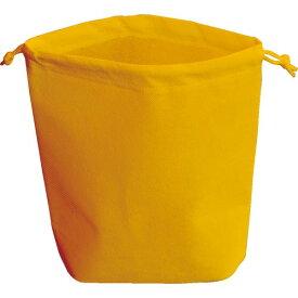 TRUSCO 不織布巾着袋 A4サイズ マチあり オレンジ 10枚入 HSA4-10-OR ( HSA410OR ) トラスコ中山(株)