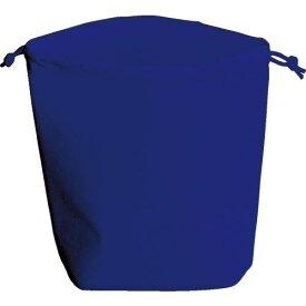 TRUSCO 不織布巾着袋 B5サイズ マチあり ネイビー 10枚入 HSB5-10-NV ( HSB510NV ) トラスコ中山(株)