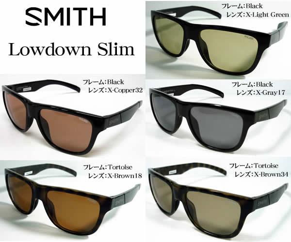 SMITH アクションポーラー ローダウン スリム 偏光サングラス ACTION POLAR Lowdown Slim アウトドア・スポーツ・フィッシング