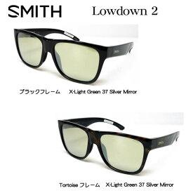 SMITH スミス アクションポーラー ローダウン2 シルバーミラー 偏光サングラス ACTION POLAR Lowdown 2 フィッシング・アウトドア・スポーツ