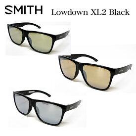 SMITH スミス アクションポーラー ローダウンXL2 偏光サングラス ACTION POLAR Lowdown XL2 ブラックフレーム ミラータイプ