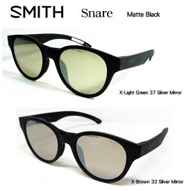 SMITH スミス アクションポーラー スネア Snare フレームカラー:マッドブラック ミラー偏光サングラス ACTION POLAR Snare