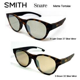 SMITH スミス アクションポーラー スネア Snare (フレーム:Matte Tortoise) ミラー偏光サングラス ACTION POLAR Lowdown Snare