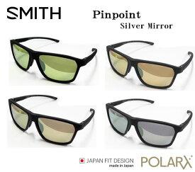 SMITH スミス アクションポーラー ピンポイント シルバーミラー ACTION POLAR Pinpoint SilverMirror(フレーム:Mブラック、)POLARX ミラー偏光サングラス フィッシング