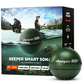 ディーパー チャーププラス GPS付ソナー魚探 Deeper CHIRP+ Smart Sonar Wi-Fi