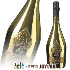 【袋付】アルマンド ブリニャック ブリュット ゴールド 750ml 箱なし シャンパン シャンパーニュ 【中古】