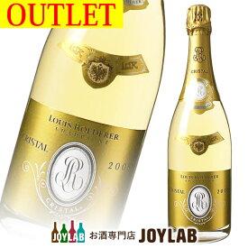 【アウトレット】ルイ ロデレール クリスタル 2008 750ml 箱なし シャンパン シャンパーニュ 【中古】