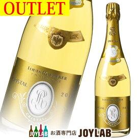 【アウトレット】ルイ ロデレール クリスタル 2012 750ml 箱なし シャンパン シャンパーニュ 【中古】