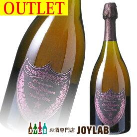 【アウトレット】ドンペリニヨン ロゼ 2006 750ml 箱なし シャンパン ピンドン 【中古】