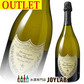 【アウトレット】ドンペリニヨン 白 2009 箱なし 750ml Dom Perignon シャンパン シャンパーニュ 【中古】