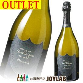 【アウトレット】ドンペリニヨン P2 プレニチュード 2002 750ml 箱なし シャンパン シャンパーニュ 【中古】