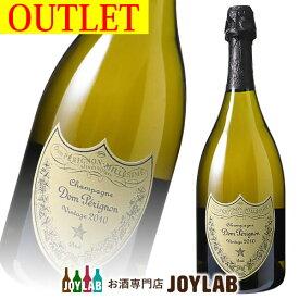 【アウトレット】ドンペリニヨン 2010 750ml 箱なし 白 シャンパン シャンパーニュ 【中古】