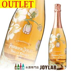 【アウトレット】ペリエジュエ ベルエポック ロゼ 2010 750ml 箱なし シャンパン シャンパーニュ PERRIER-JOUET BELLE EPOQUE 【中古】