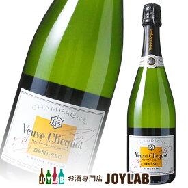 ヴーヴ クリコ ホワイトラベル ドゥミセック 750ml 箱なし Veuve Clicquot シャンパン シャンパーニュ 【中古】