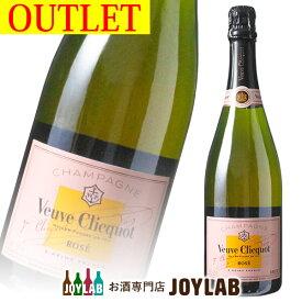 【アウトレット】ヴーヴ クリコ ローズラベル ロゼ 750ml 箱なし シャンパン シャンパーニュ 【中古】