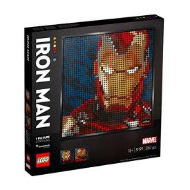 レゴ(LEGO) レゴアート マーベルスタジオ アイアンマン おもちゃ ブロック レゴ アート LEGO 31199 [並行輸入品]