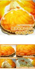 贅沢オレンジ&みかんタルト5号サイズ