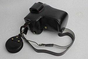 Sony ソニー PEN A9 α9 A7R III α7R III A7 III α7 III A7R3 A7M3 カメラ バッグ カメラ ケース (24-70mmのレンズに適用)彫りベース+ショルダーストラップ+ミニ収納ケース (ブラック)