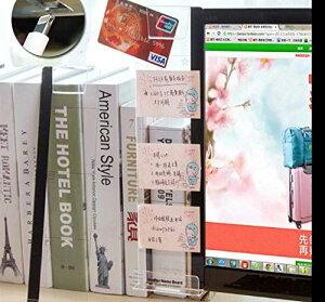 パソコンディスプレイ用 メッセージボード (1個入り 左側)アクリル 透明ボード 携帯立てスタンド ルーラー 貼り付けボード メモスタンド 伝言板 多機能 パソコン収納 スマホホルダー 机