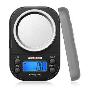 Accuweightデジタル 計量器 精密はかり携帯 電子はかり 電子天秤 デジタルスケール 0.1g単位 1000g 業務用 計測AW255 1000g
